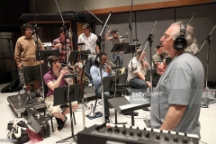 The GRAMMY Jazz Band attends The 53rd Annual GRAMMY Awards - GRAMMY Jazz Ensembles CD Recording at Capitol Records Studio on February 11, 2011 in Hollywood, California.